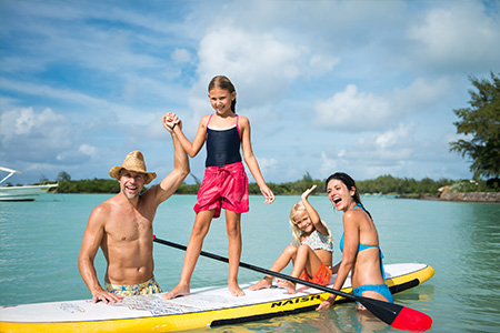 Image - Mauritius with Children