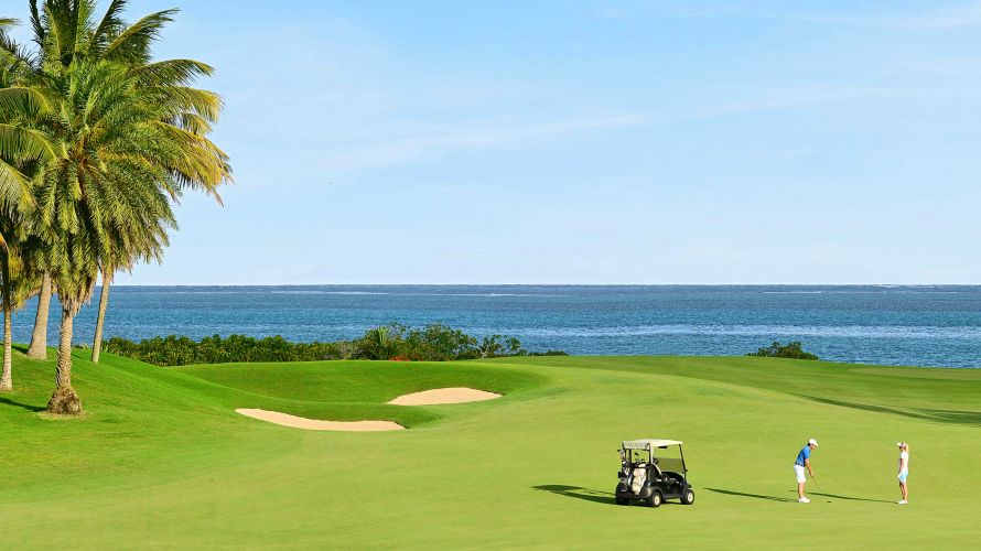 Beautiful views and stunning fairways can be found at Anahita Golf course