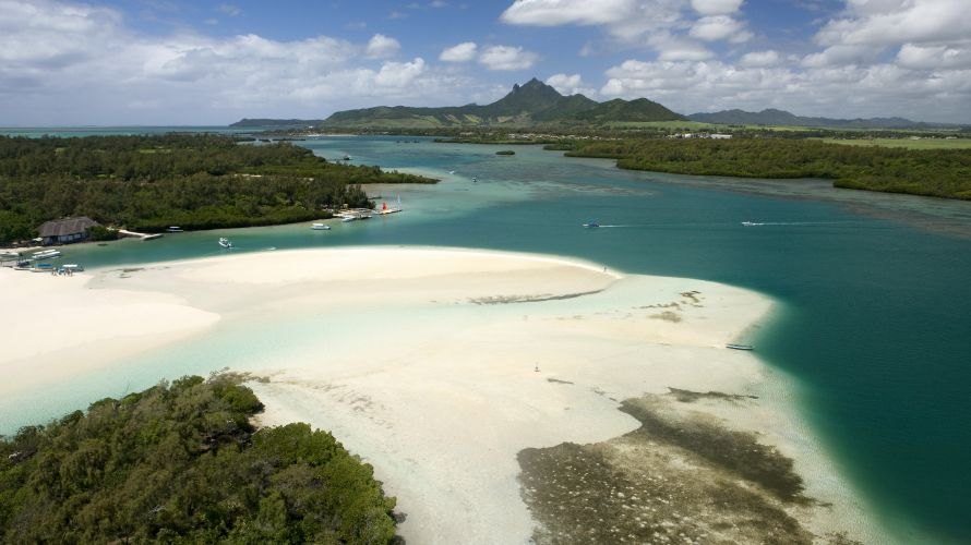 The beautiful nature reserve of Ile aux Aigrettes is home to numerous endangered plant and animal species