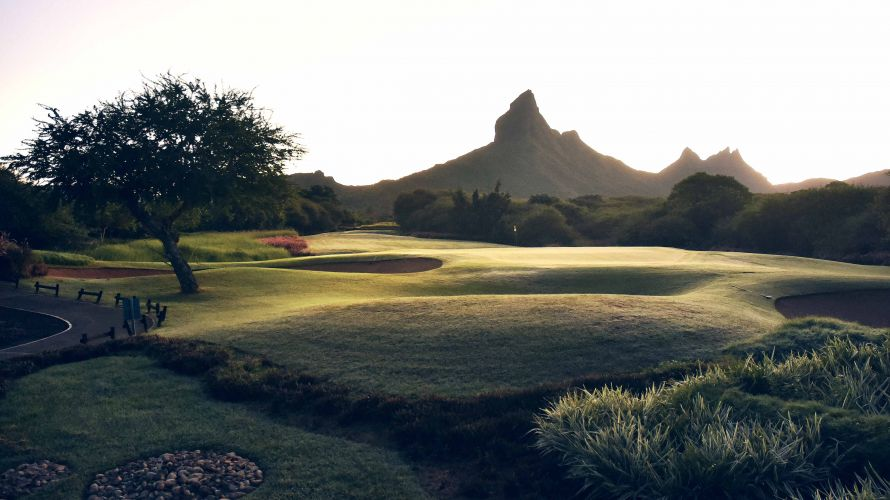 Golfing at Tamarina early in the morning is a truly breathtaking experience