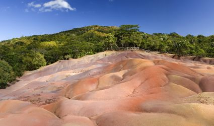 Seven Coloured Earths Chamarel Mauritius
